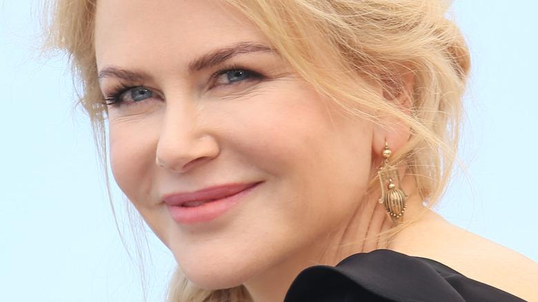 Nicole Kidman smiles
