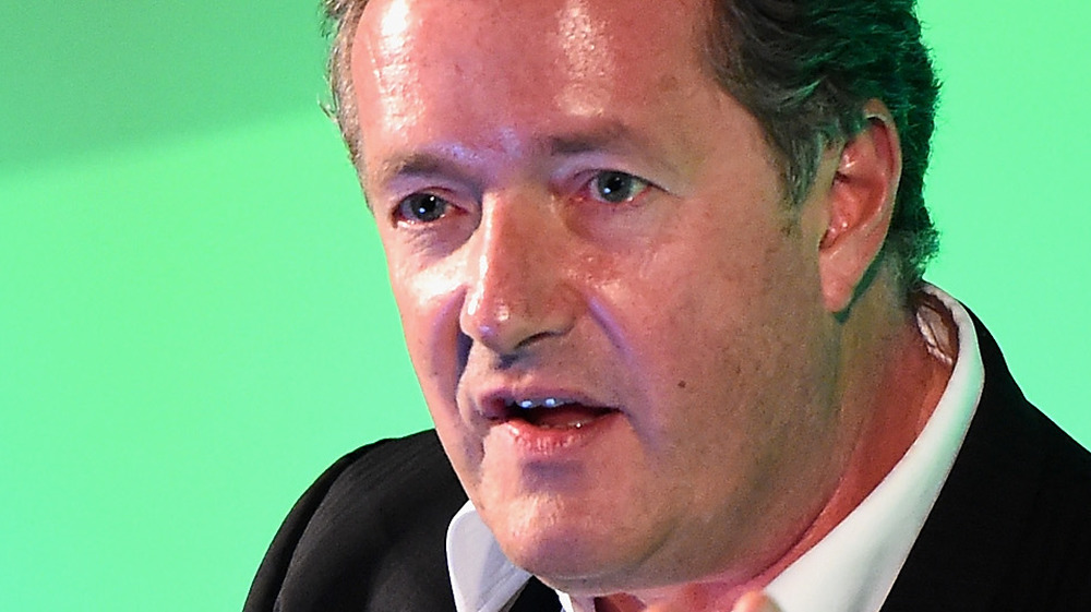 Piers Morgan looks baffled