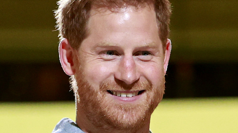 Prince Harry at the Vax Event