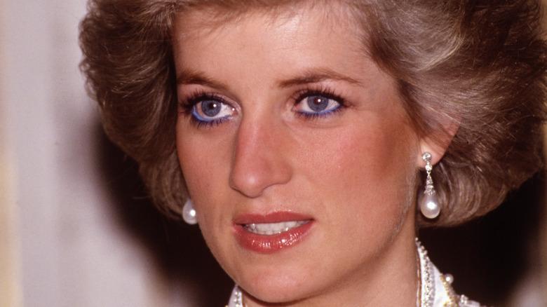 Princess Diana at a dinner
