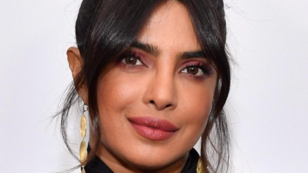 Priyanka Chopra posing on the red carpet