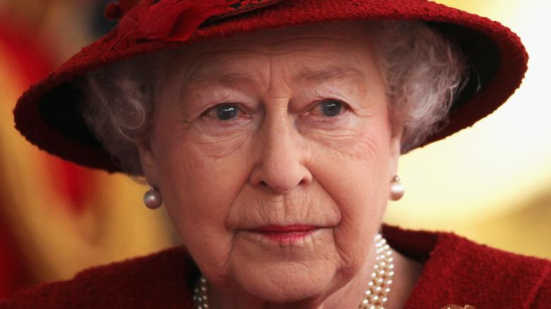Queen Elizabeth II at a royal event