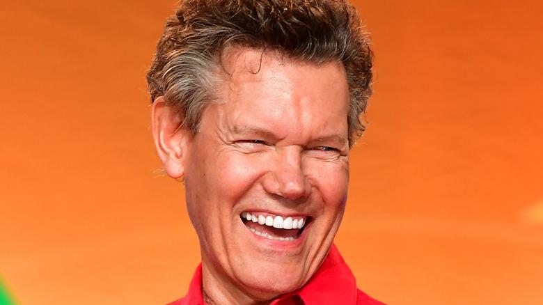 Randy Travis smiling