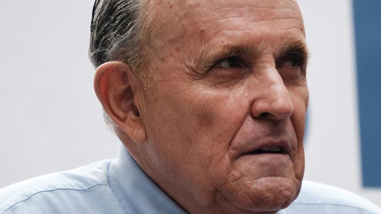 Rudy Giuliani close up