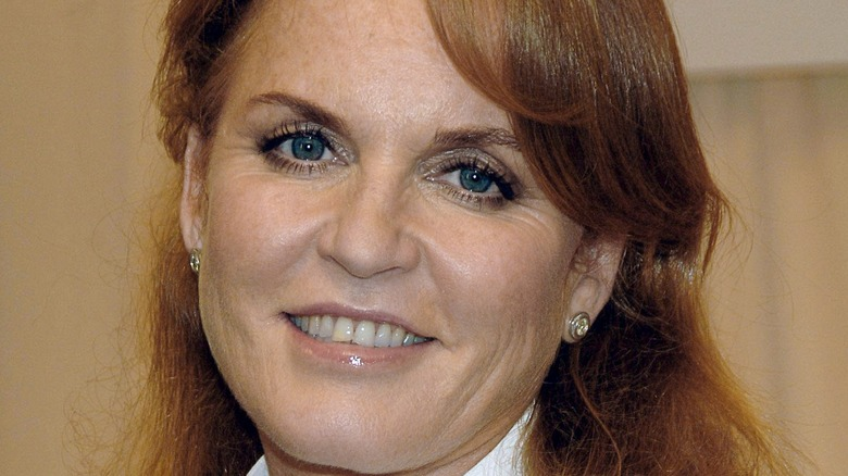 Sarah Ferguson smiling
