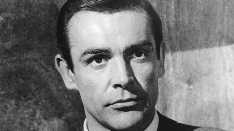 Sean Connery smiling as James Bond