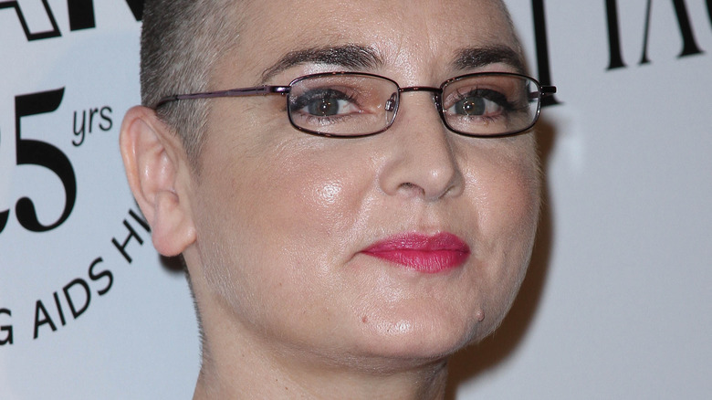 Sinéad O'Connor at an event