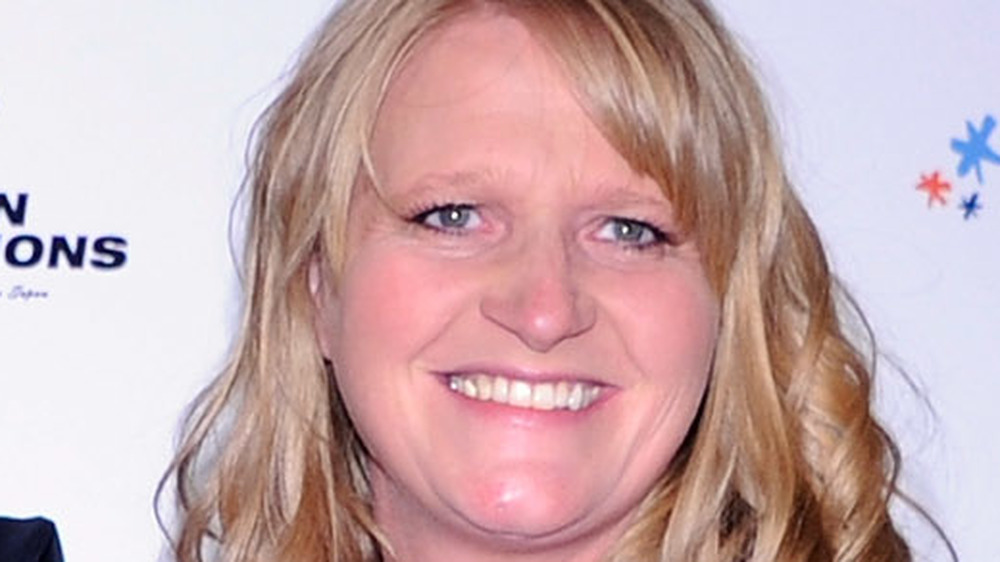 Christine Brown smiling