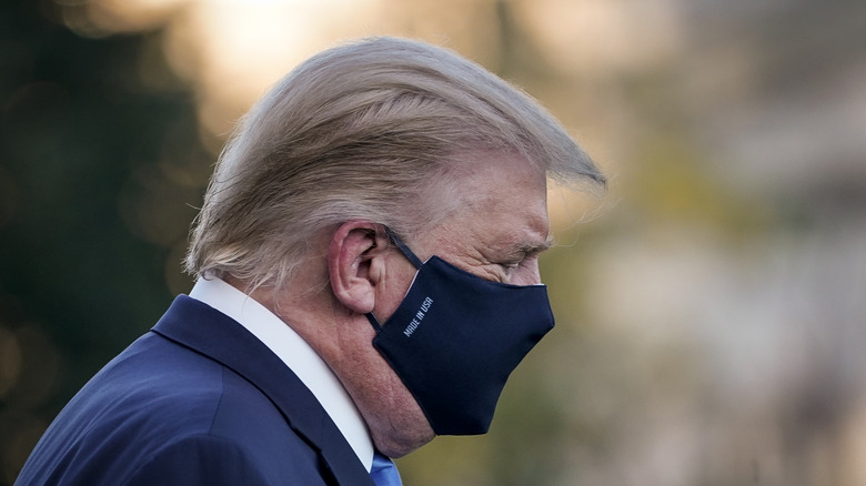 President Trump prepares to be hospitalized
