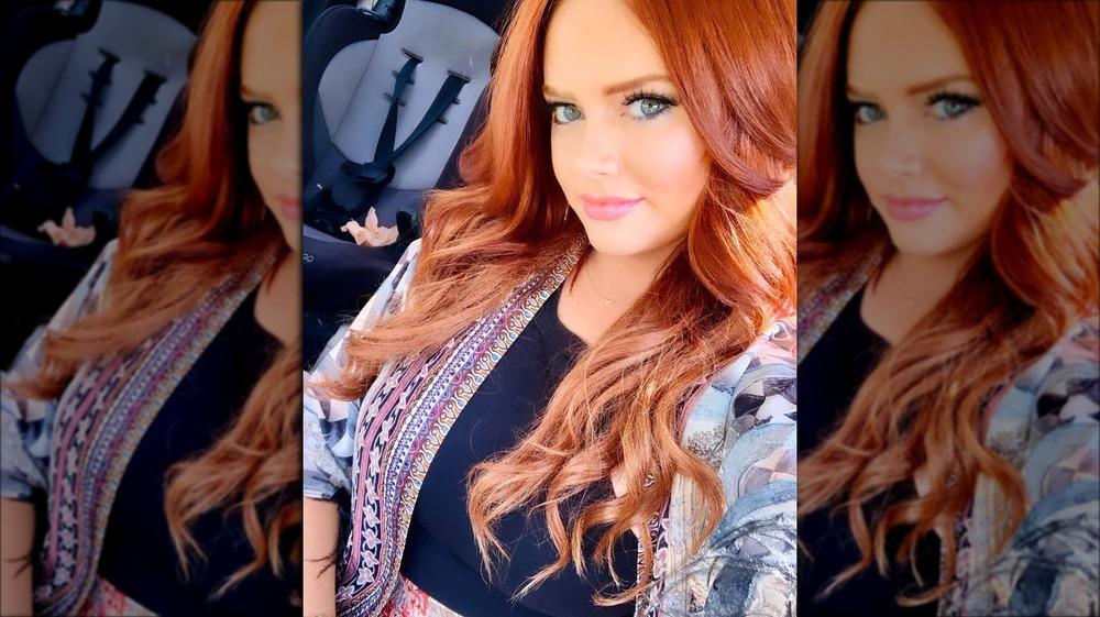 Selfie of Southern Charm star Kathryn Dennis