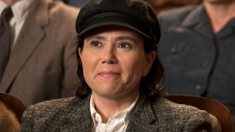 Alex Bornstein as Susie from The Marvelous Mrs. Maisel