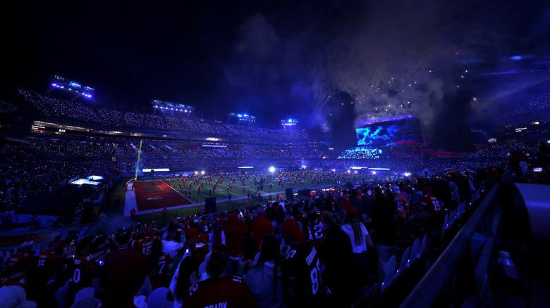 Stadium view 2021 halftime show