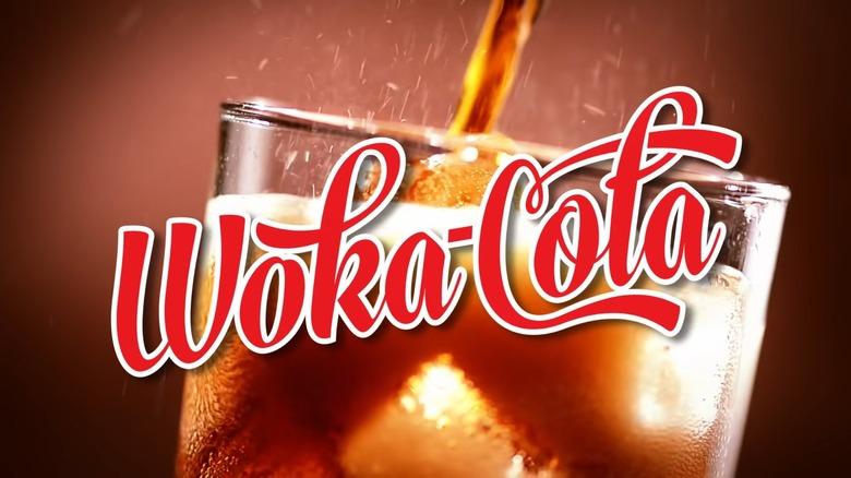 Woka Cola ad screenshot