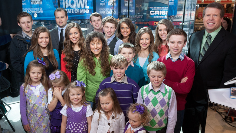 The Duggar family in 2014
