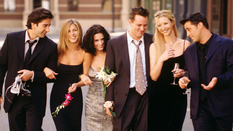 The cast of Friends promo