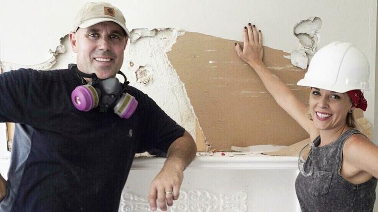 Kortney and Dave Wilson smiling