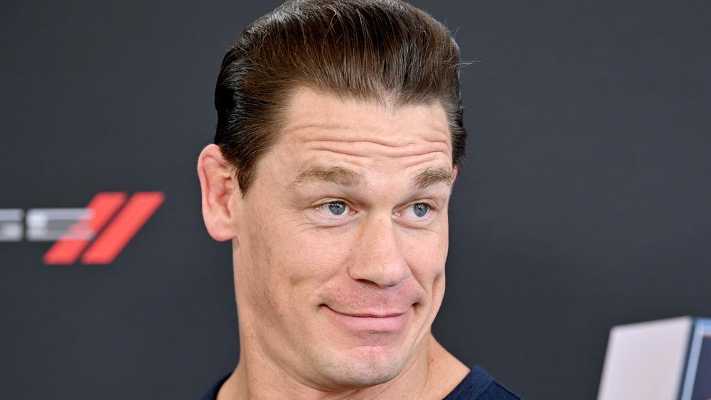 John Cena in Mountain Dew commercial