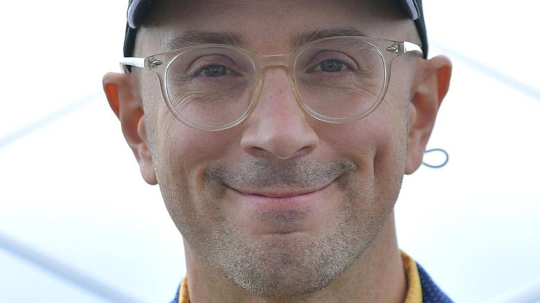 Steve Burns smiling