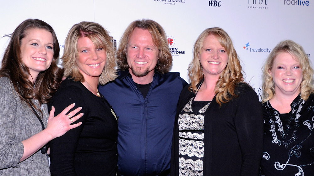 Sister Wives cast at event