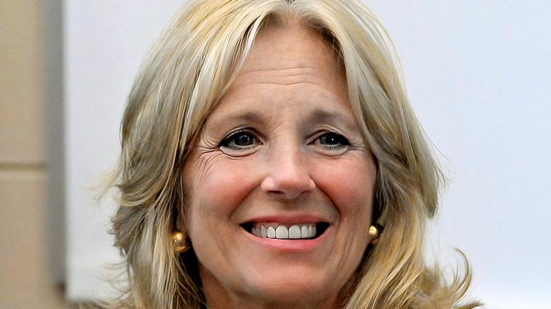 Dr. Jill Biden smiling