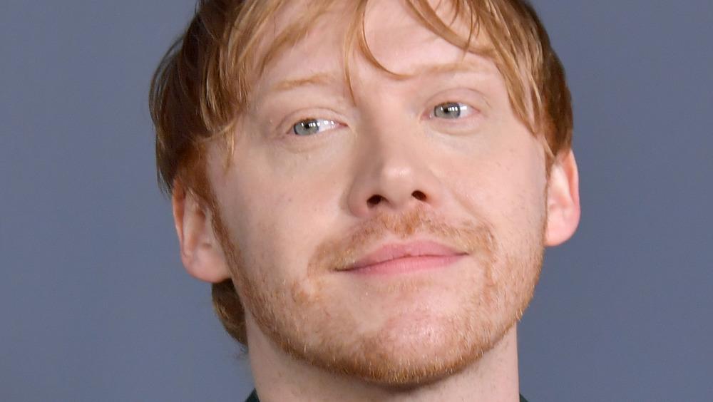 Rupert Grint smiling