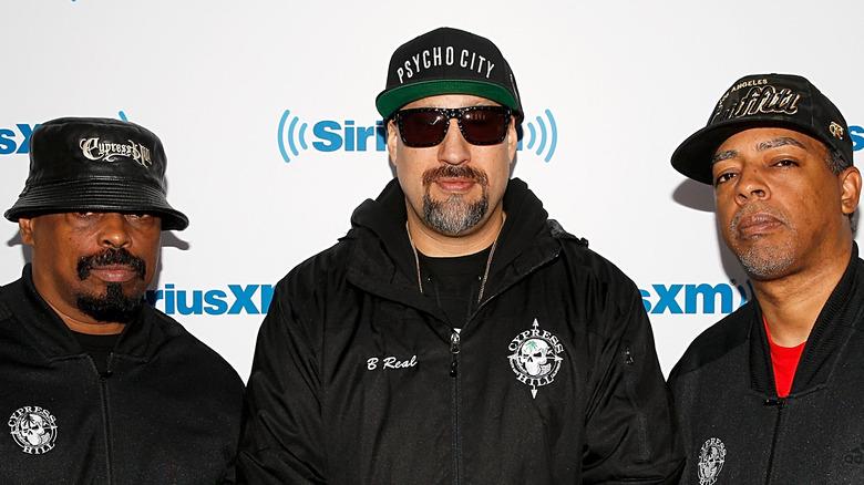 Members of Cypress Hill