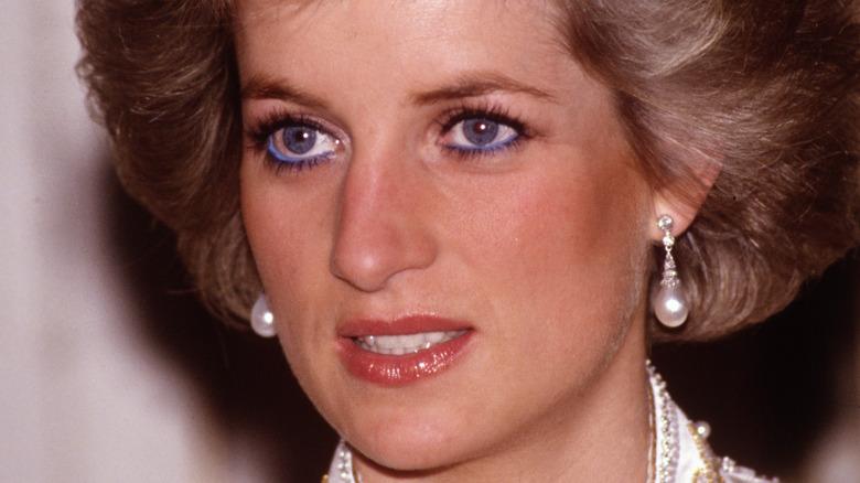 Princess Diana close-up