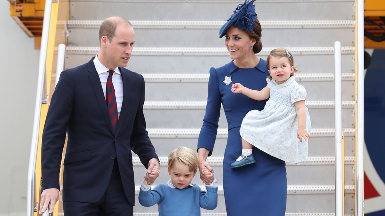 The Cambridges are hands-on parents