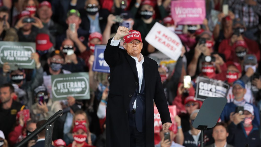 Trump at Des Moines rally