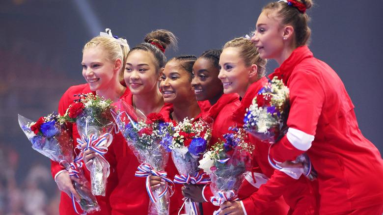 USA women's gymnastics team 2021