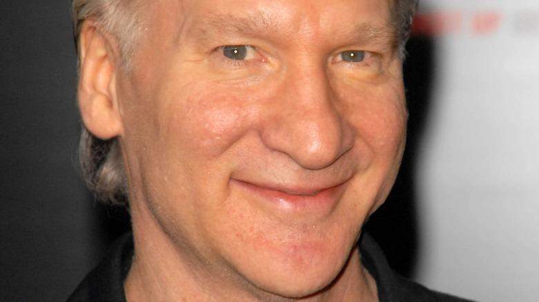 close up of Bill Maher