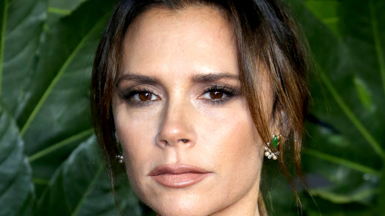 Victoria Beckham close up