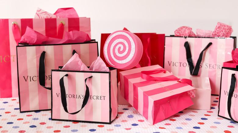 victorias secret shopping bags