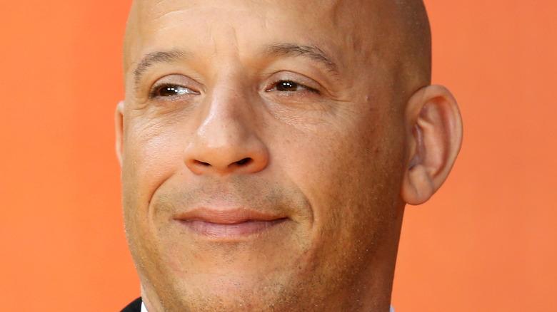 Vin Diesel posing