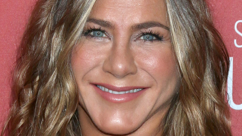 Jennifer Aniston smiling face
