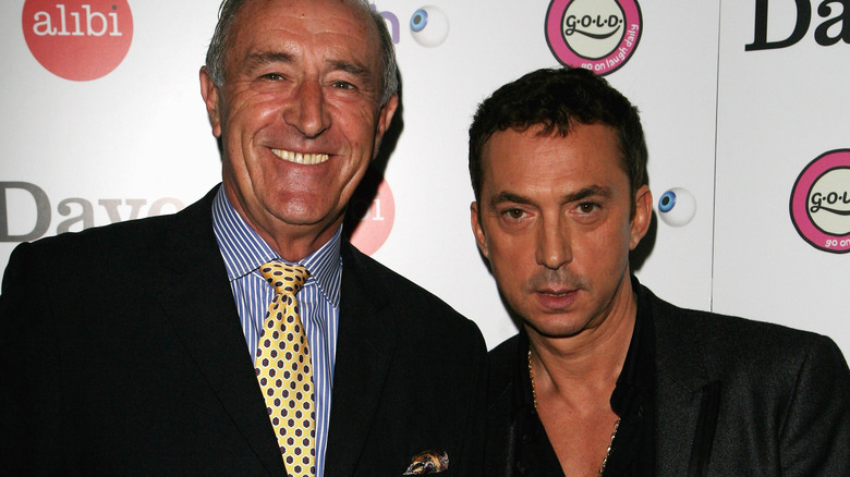 "Len Goodman and Bruno Tonioli from ""DWTS"""