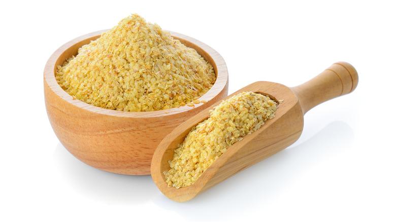 wheat germ in scoop