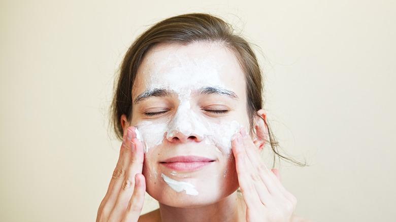 Sourdough face mask