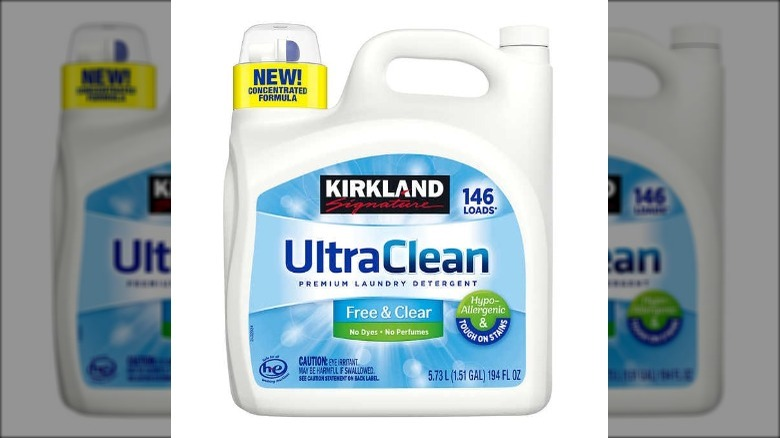 Ultra clean laundry detergent