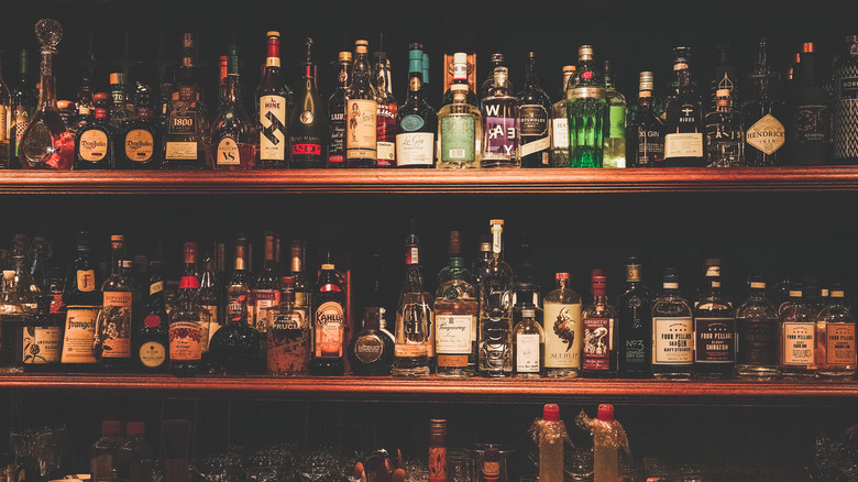 Image of stocked bar