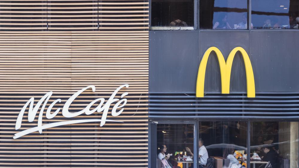 McDonald's McCafe store front