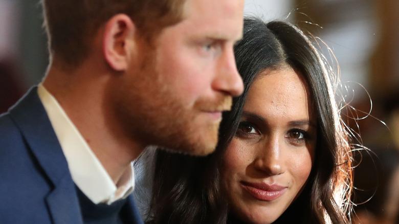 Prince Harry and wife Meghan Markle