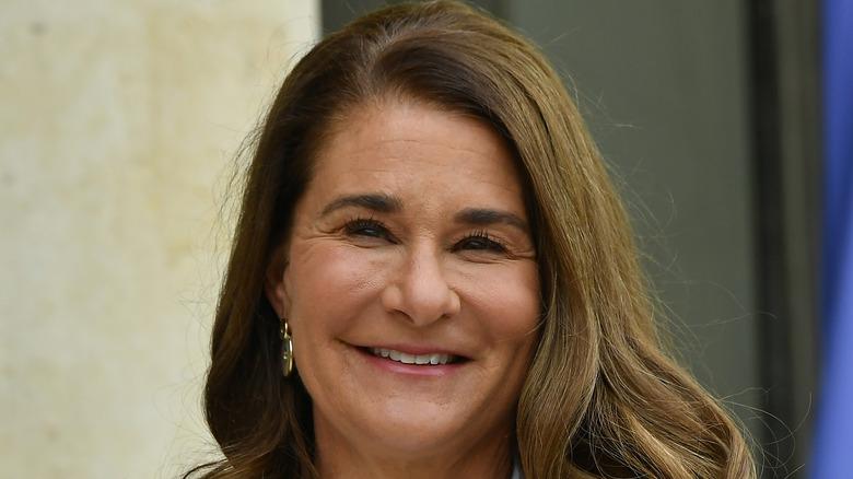 Melinda Gates smiles
