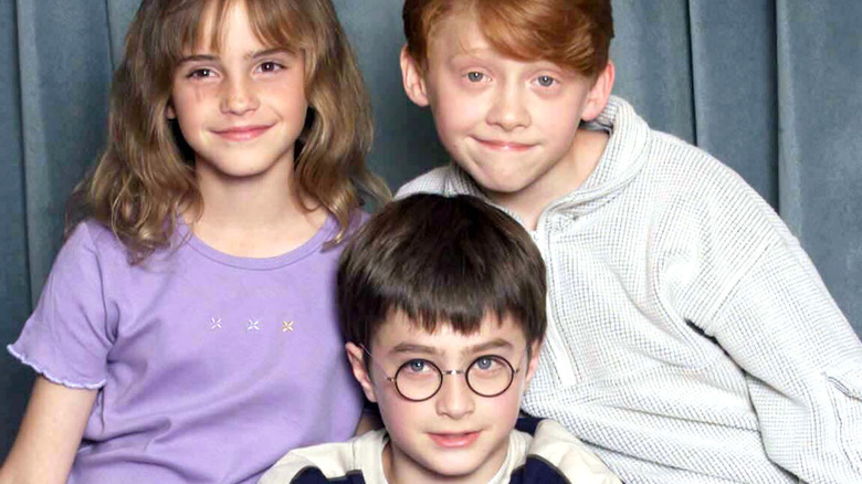 Cast of Harry Potter as children