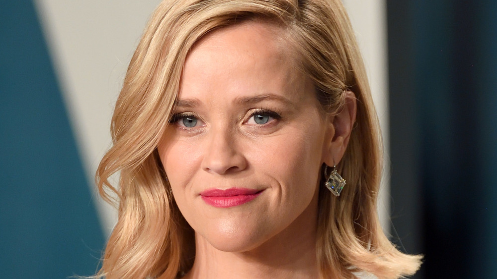 Reese Witherspoon smirking