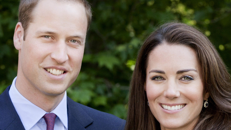 Prince William and Kate Middleton close up