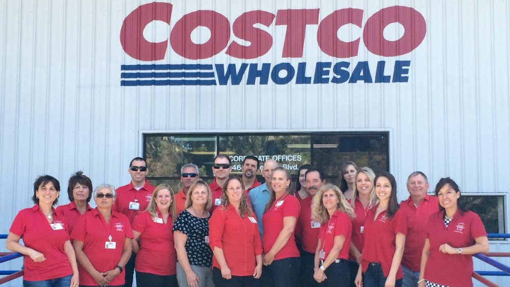 Costco workers