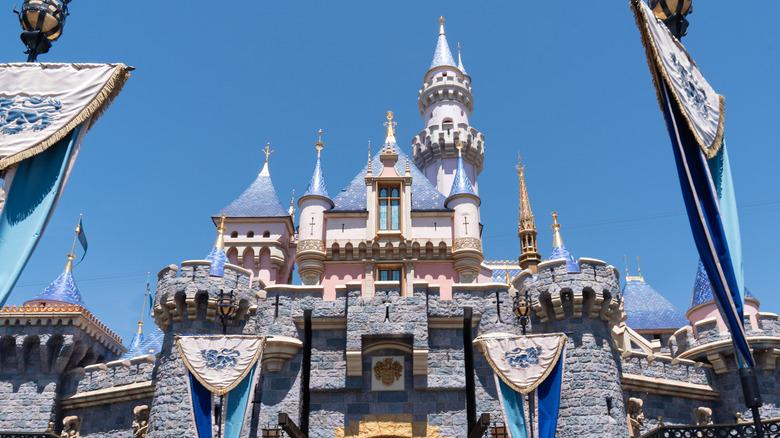 castle at Disneyland