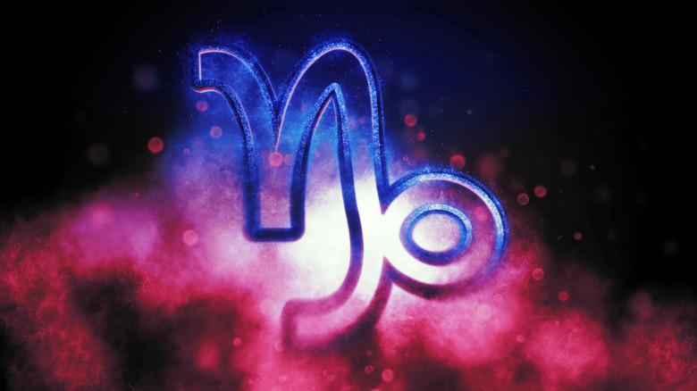 the Capricorn symbol