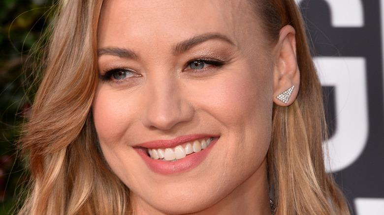 Yvonne Strahovski smiling